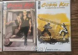 (lot Of 8 Comic Books) Cobra Kai The Karate Kid Saga Continues #1-4 Complete Set